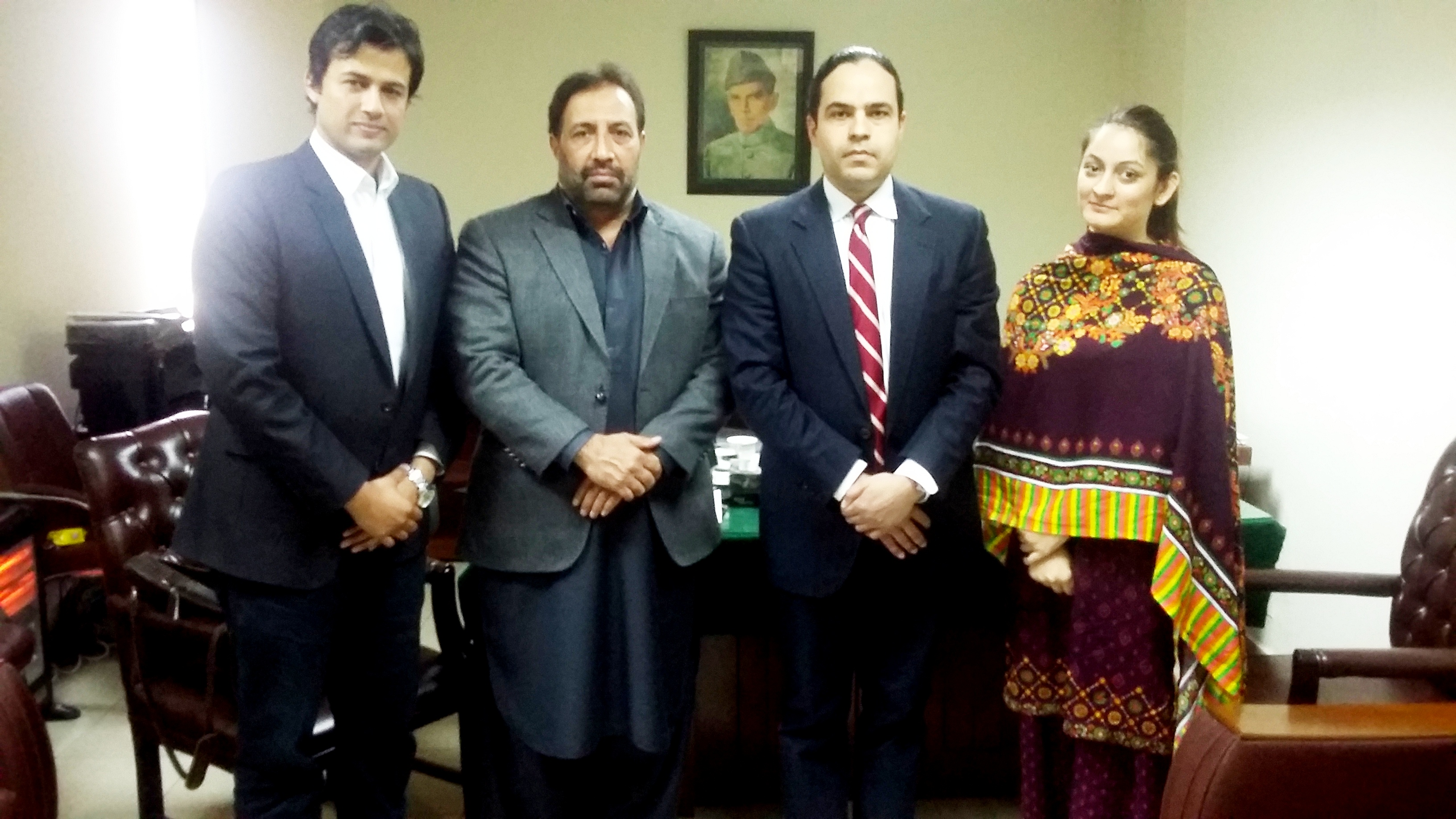 PJN Team Visit to National Commission of Human Rights