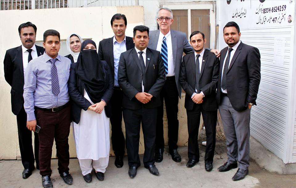 Launch of Legal Aid Desk (PJN's Incubator Program)