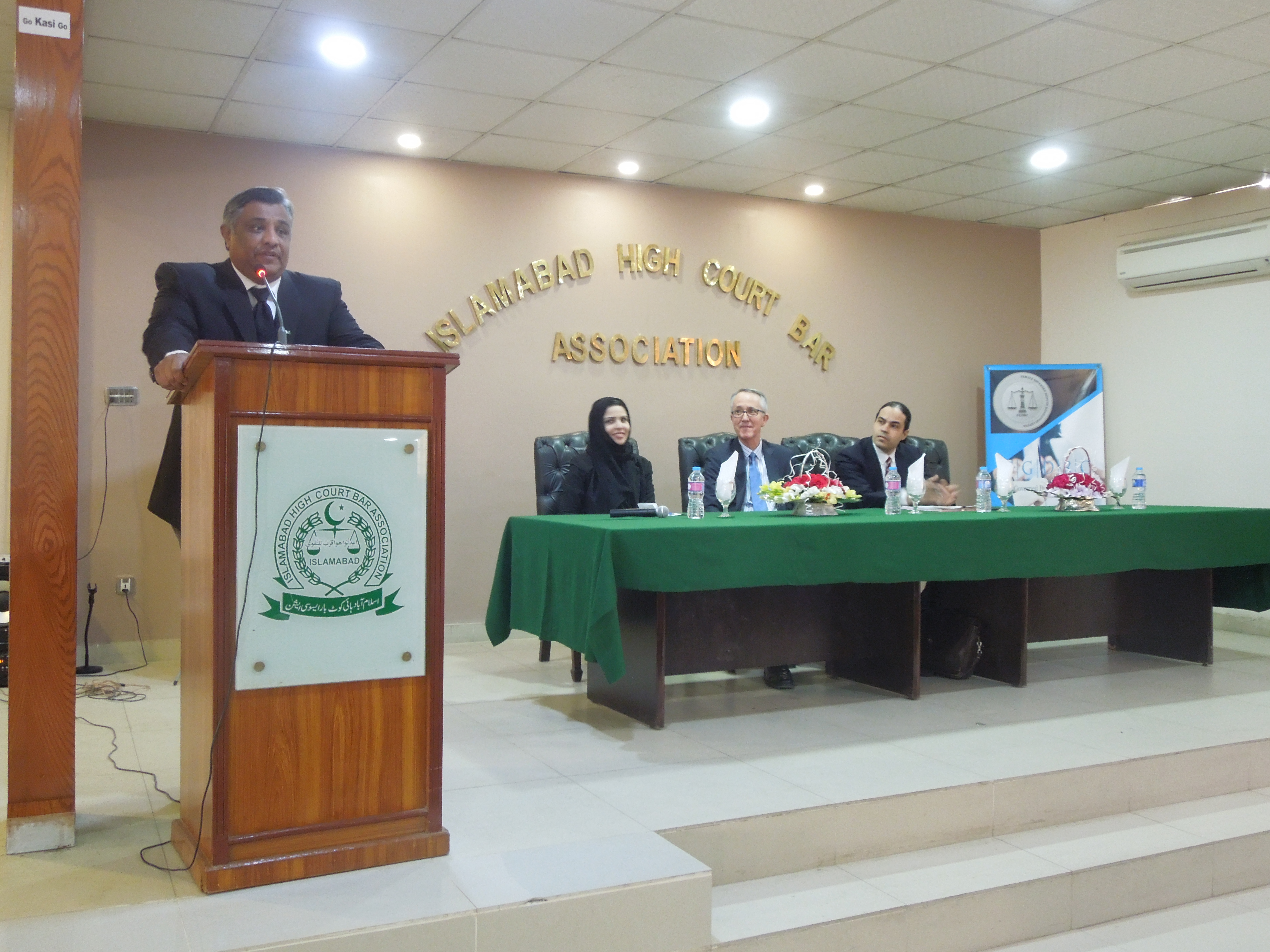 PJN International Legal Experts Lecture at Islamabad High Court