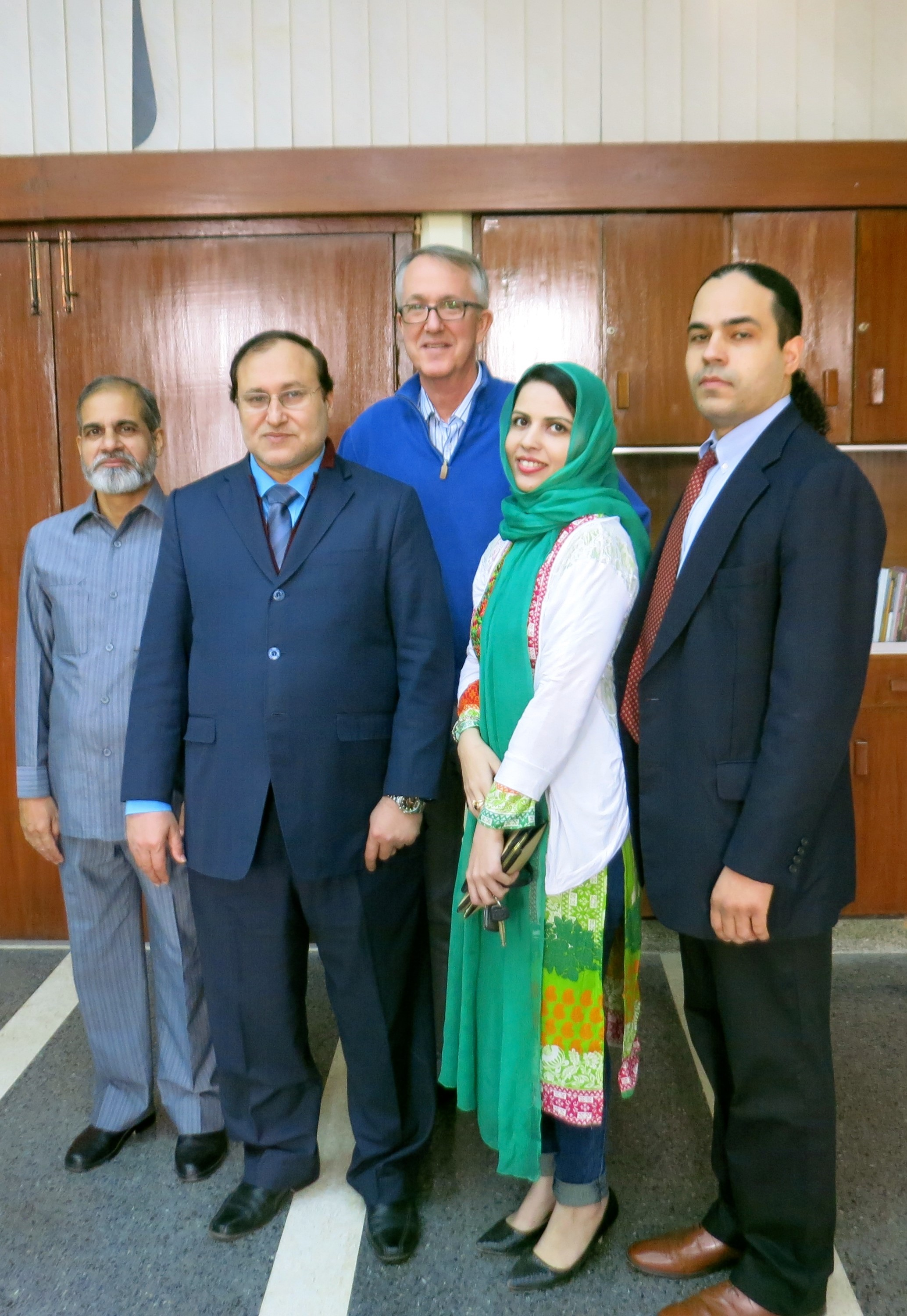 PJN International Legal Expert Visit to Islamic University