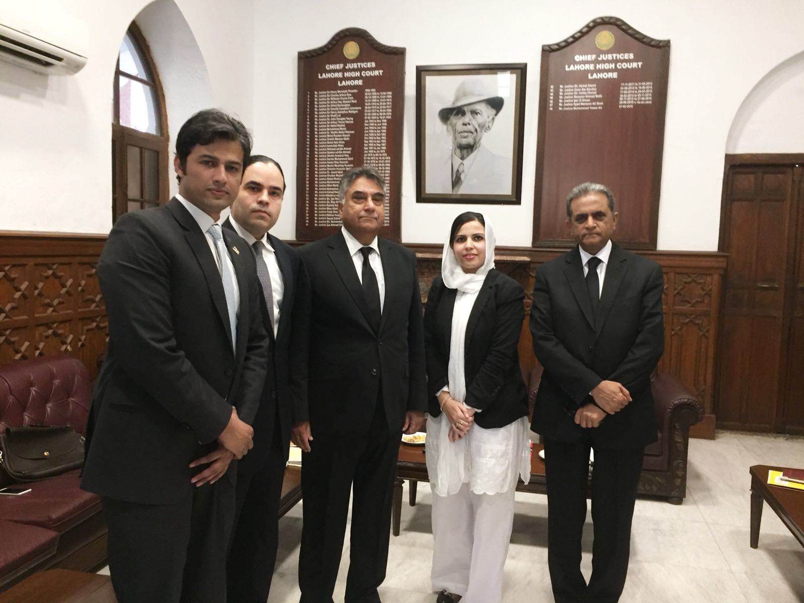 PJN Team Meeting with Chief Justice Lahore High Court