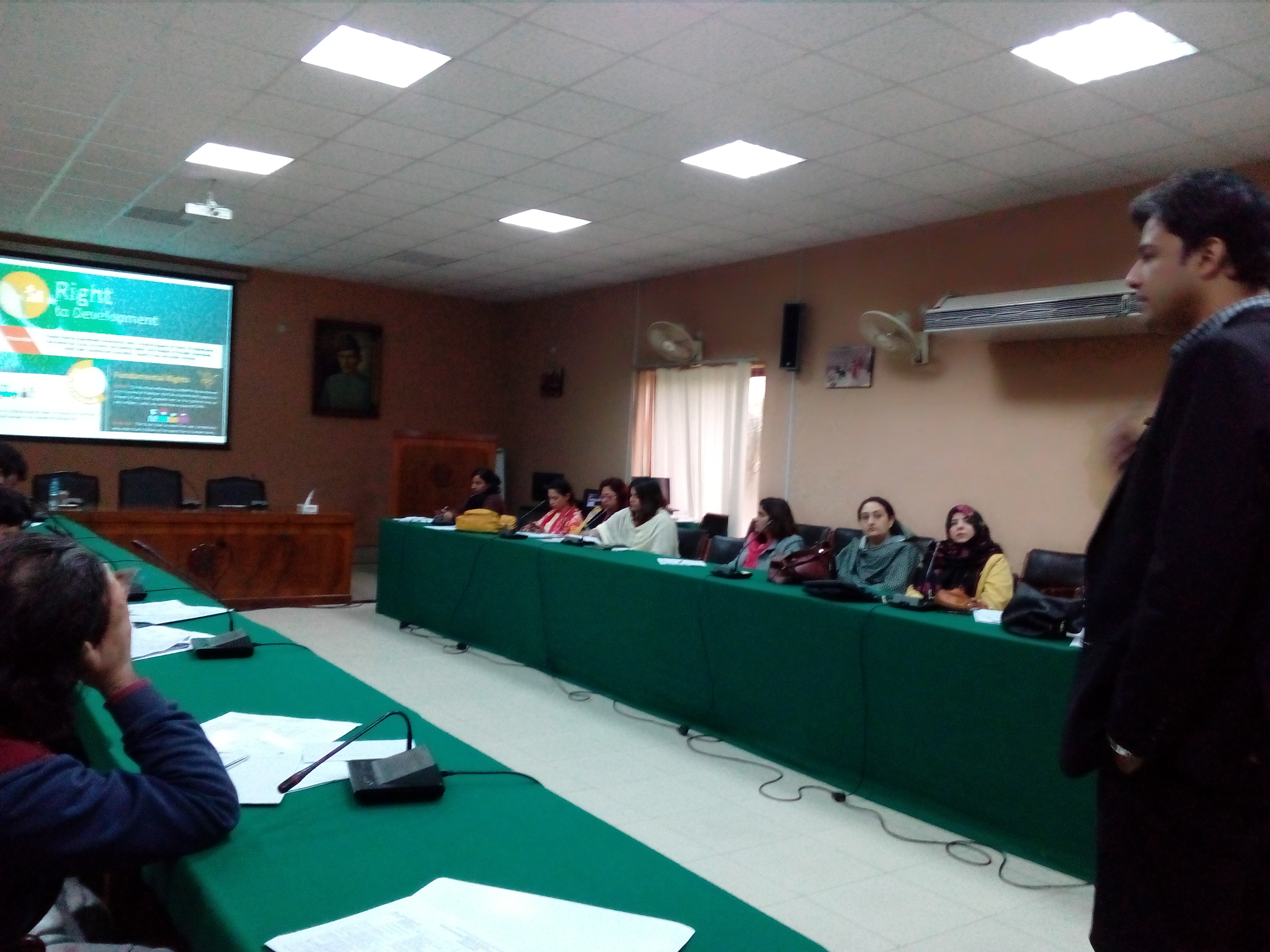 NCRD Training on SDG 16 and SDG 5 for Rural Development