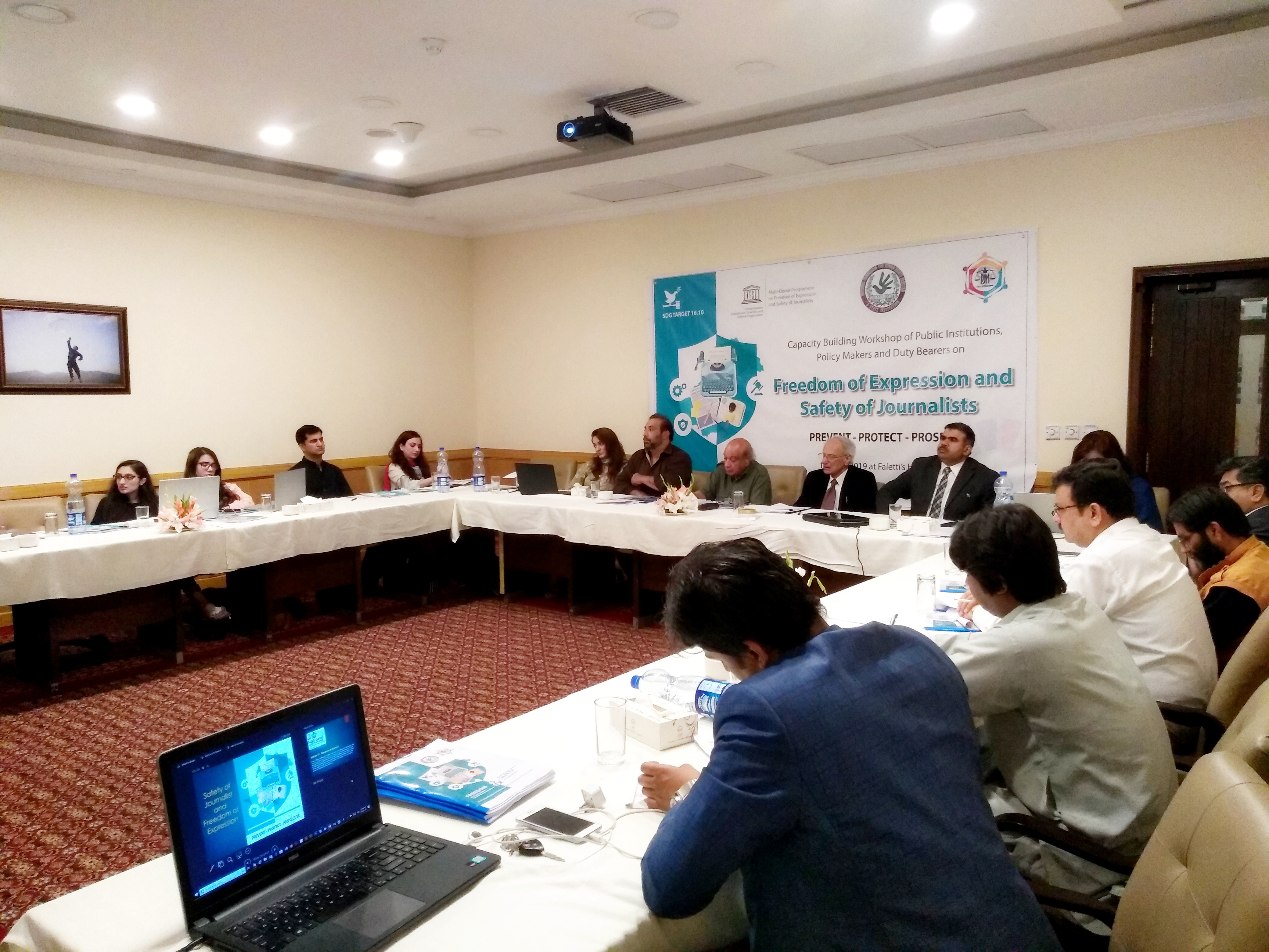 UNESCO Capacity Building Training Safety of Journalist Lahore