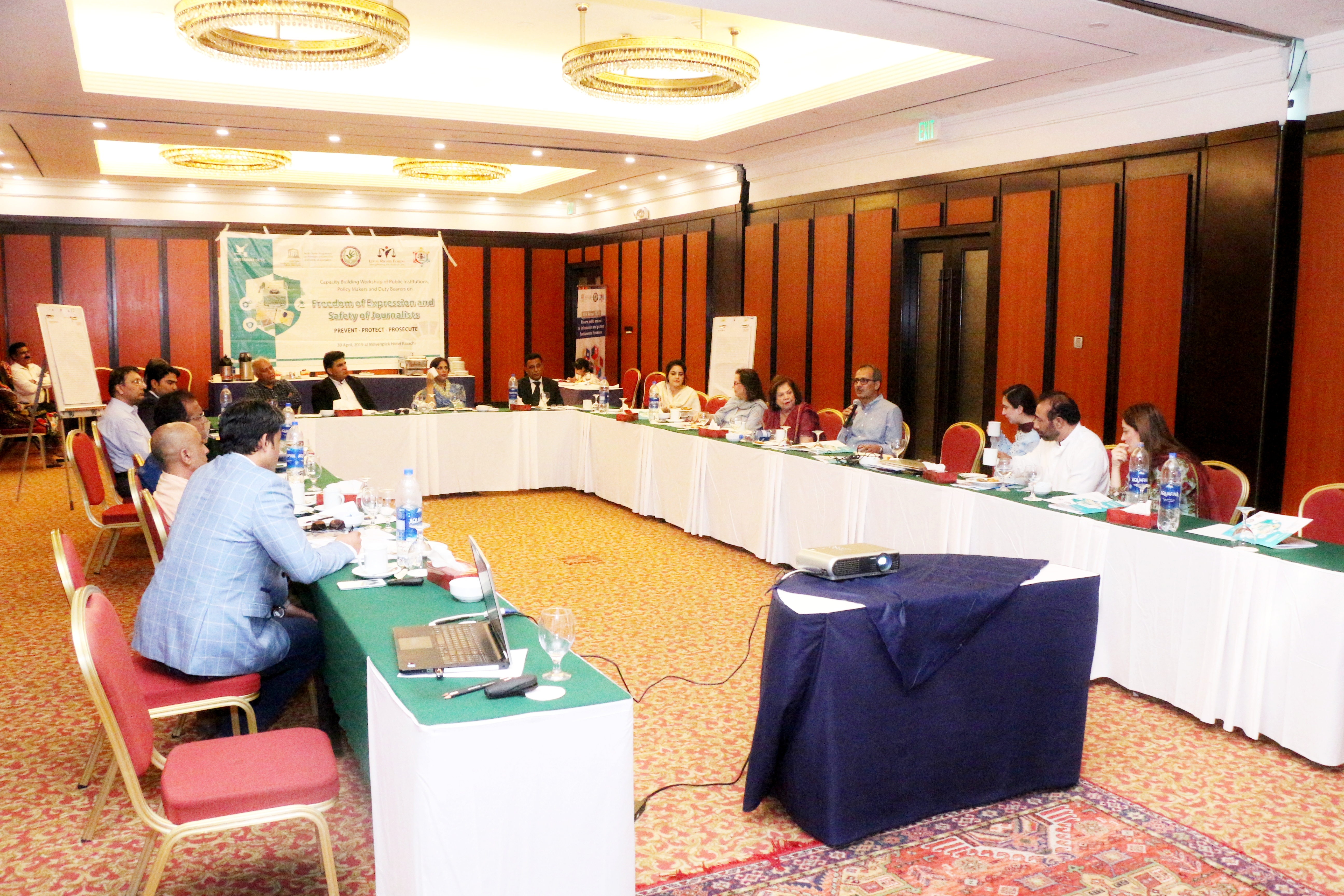 UNESCO Capacity Building Training Safety of Journalist Karachi