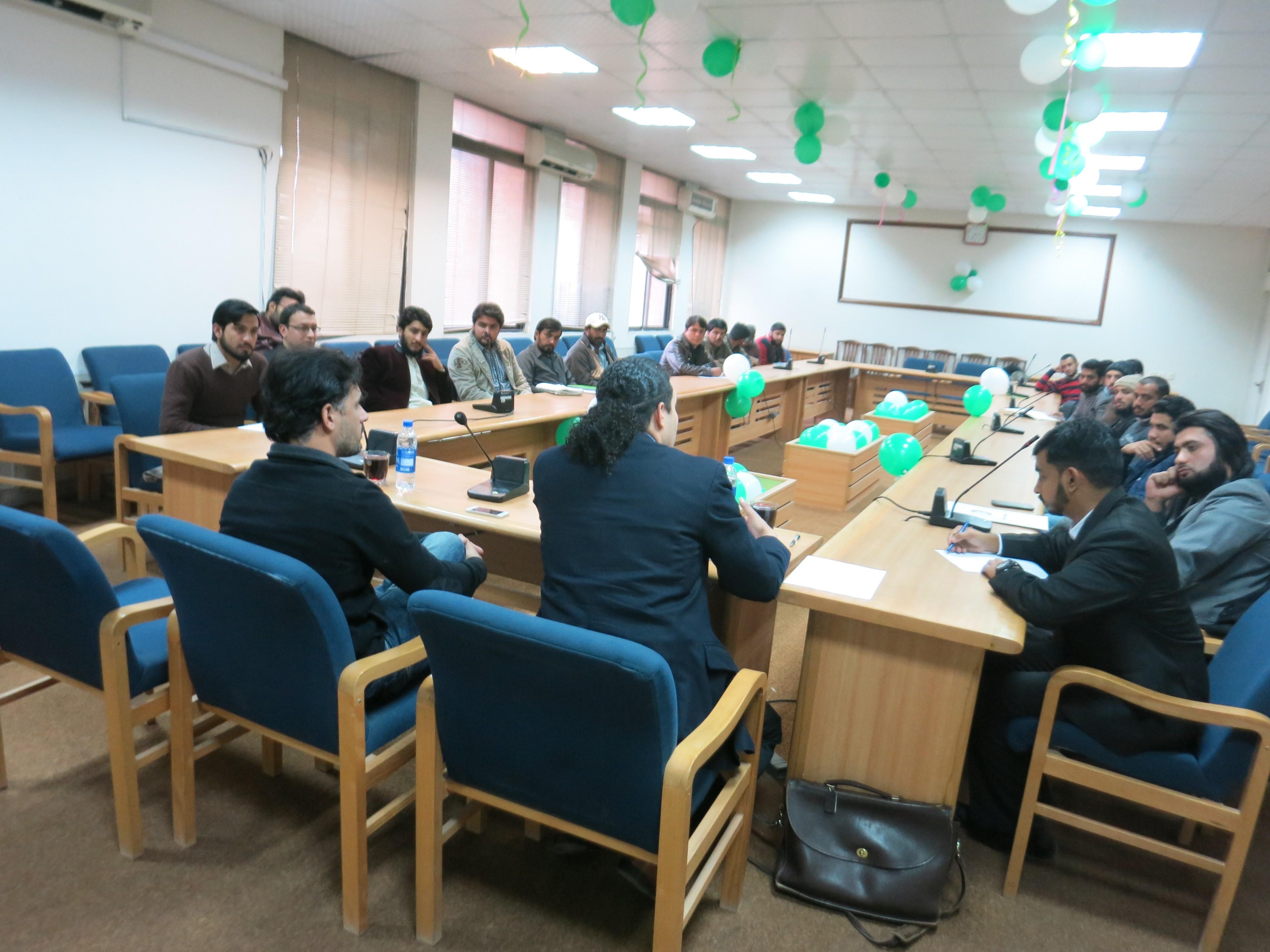 PJN International Legal Expert Visit to Islamic University