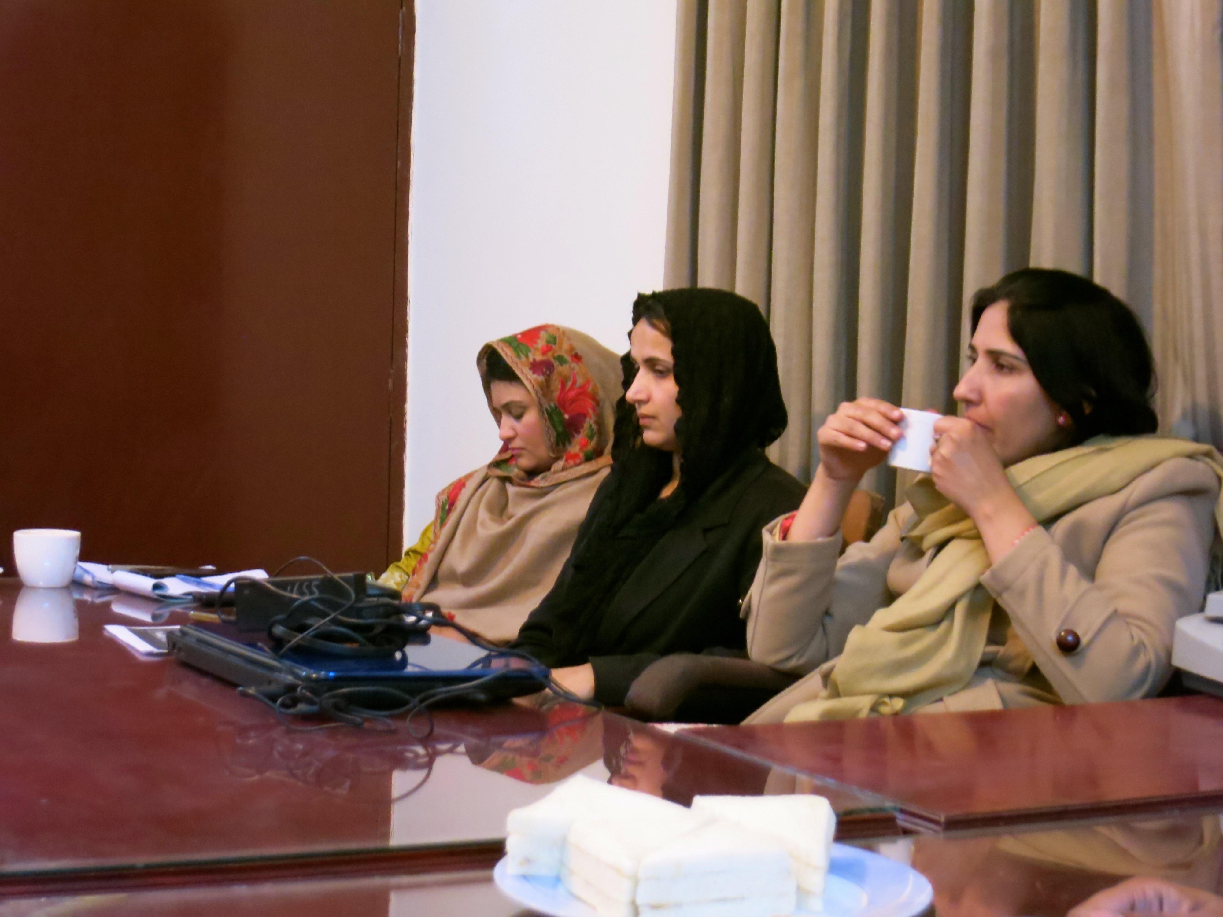 PJN International Legal Expert Visit to PJN Member Organization SHARP