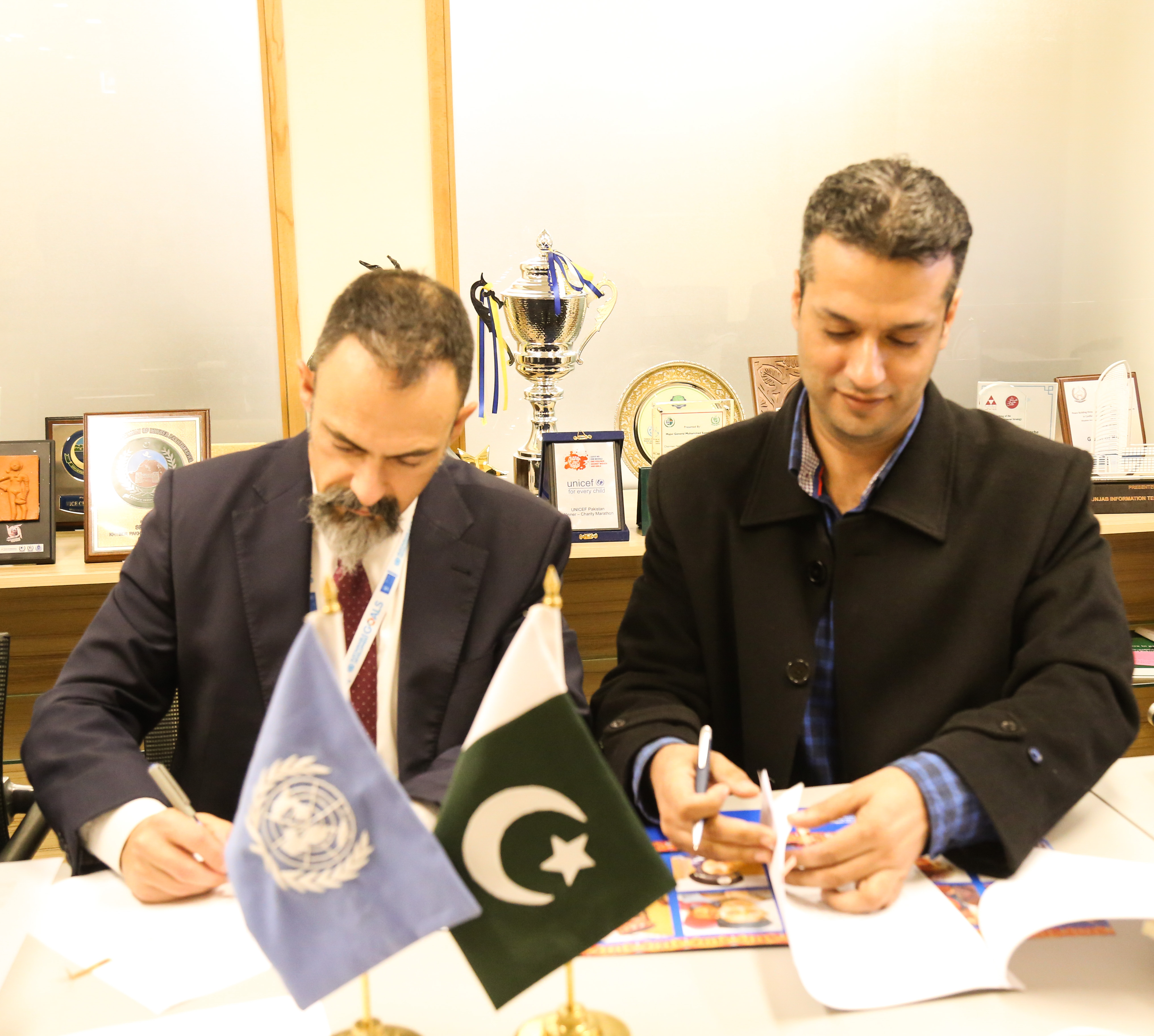 UNDP signed partnership MOU with PJN on SDG 16